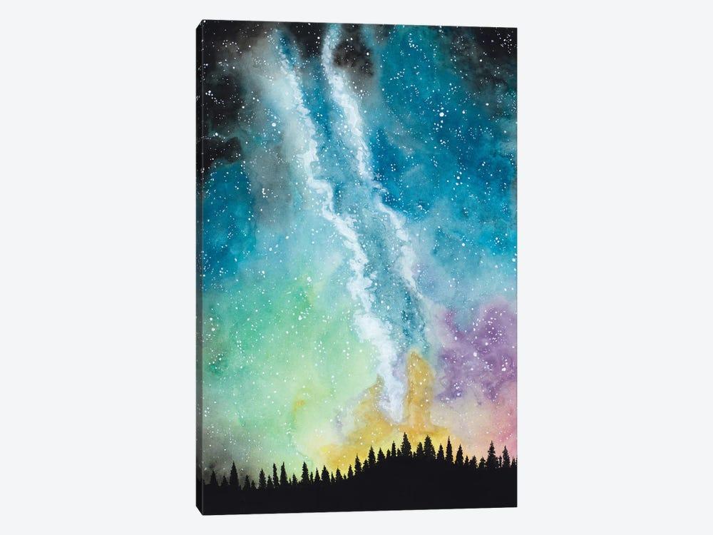 Magical Night Sky by Amaya Bucheli 1-piece Art Print