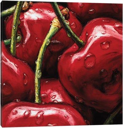 Cherries Canvas Art Print