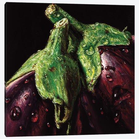 Aubergines Canvas Print #AMC5} by AlmaCh Canvas Print