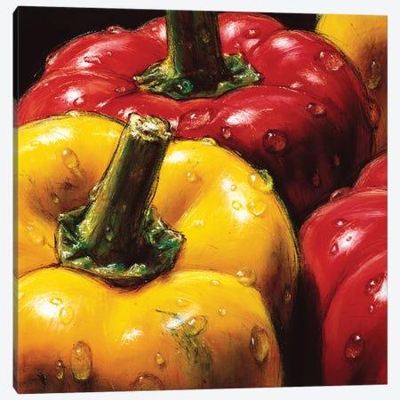 Peppers Canvas Print #AMC6} by AlmaCh Canvas Print