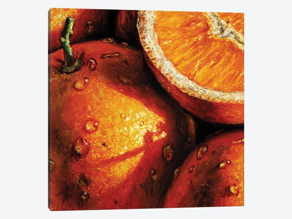 Oranges by AlmaCh 1-piece Canvas Artwork