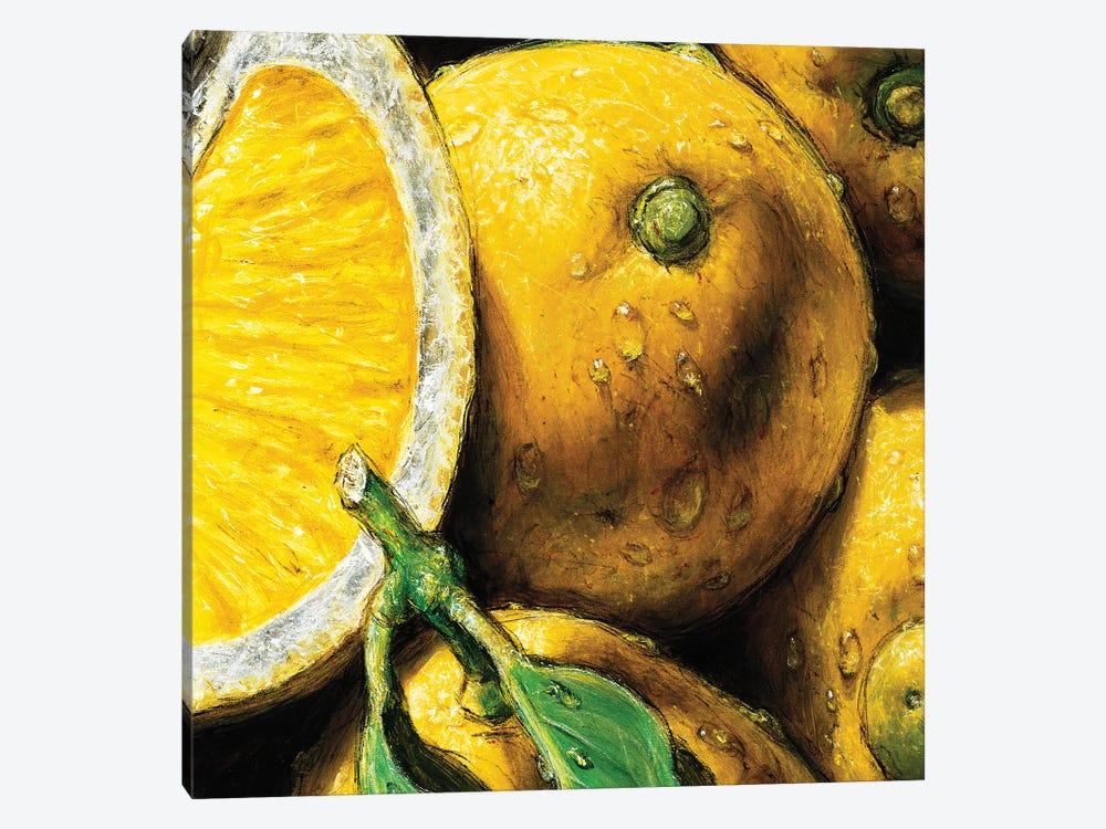Lemons by AlmaCh 1-piece Art Print
