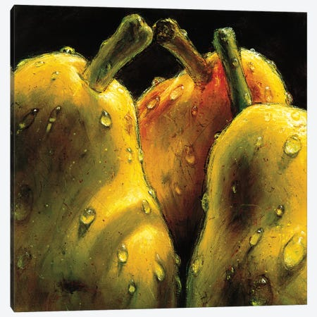 Pears Canvas Print #AMC9} by AlmaCh Canvas Artwork