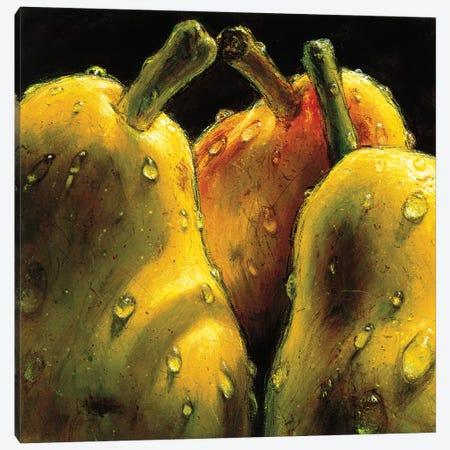 Pears Canvas Print #AMC9} by AlmaCh Canvas Artwork