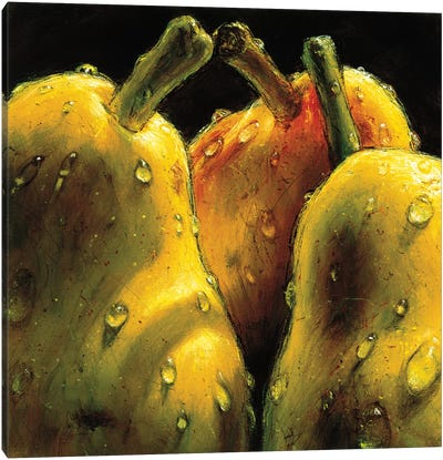 Pears Canvas Art Print