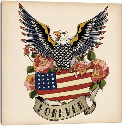 Forever Canvas Art Print
