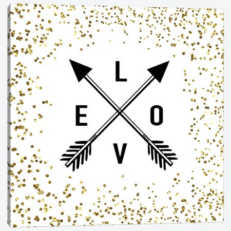 LOVE Canvas Print #AMD10} by Amanda Murray Canvas Art Print
