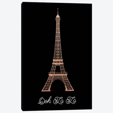 Ooh La La Canvas Print #AMD11} by Amanda Murray Art Print