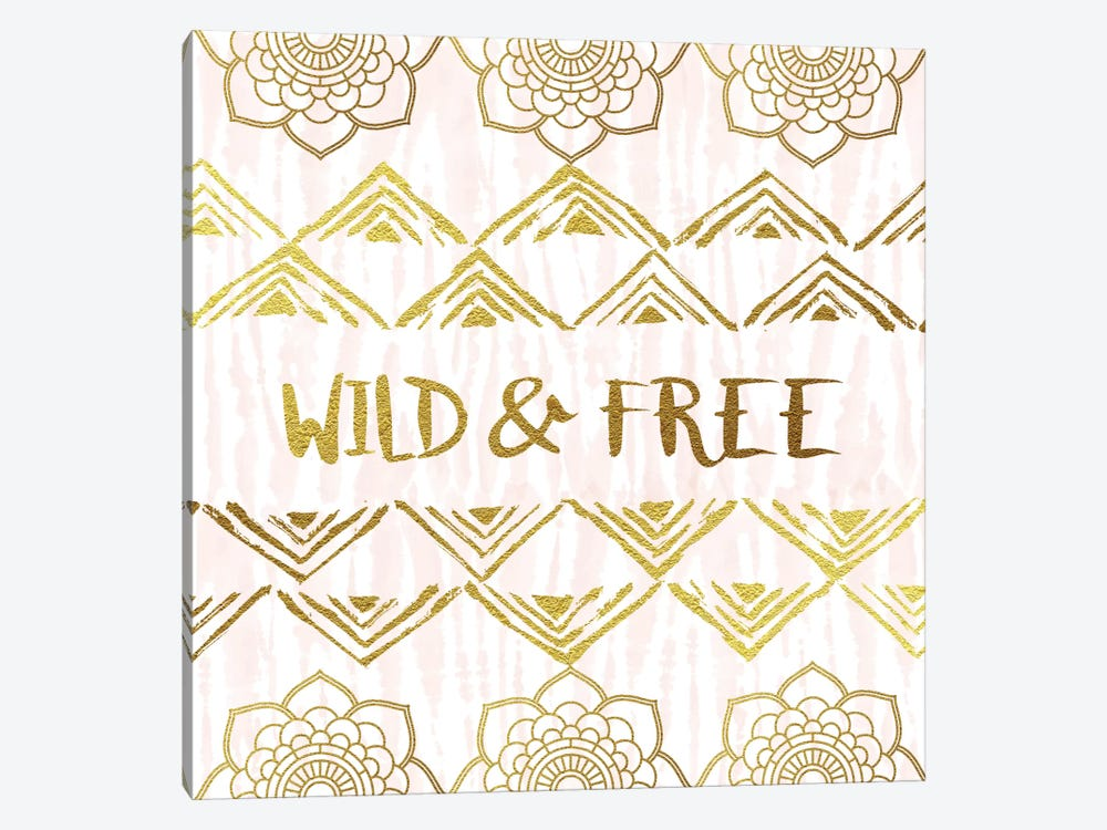 Wild & Free by Amanda Murray 1-piece Canvas Artwork