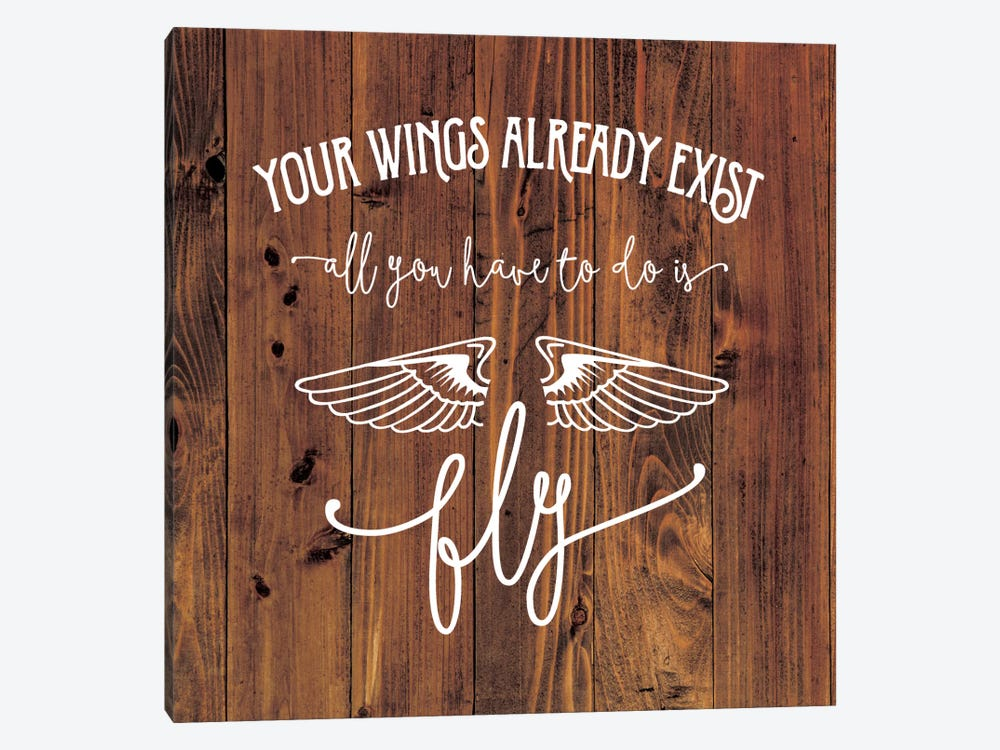 All You Have To Do Is Fly by Amanda Murray 1-piece Canvas Art Print