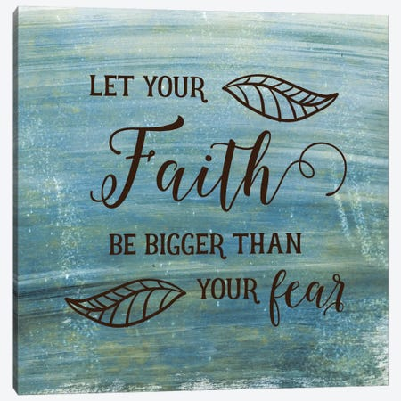 Faith Canvas Print #AMD19} by Amanda Murray Canvas Art Print