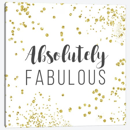 Absolutely Fabulous Canvas Print #AMD1} by Amanda Murray Canvas Art Print