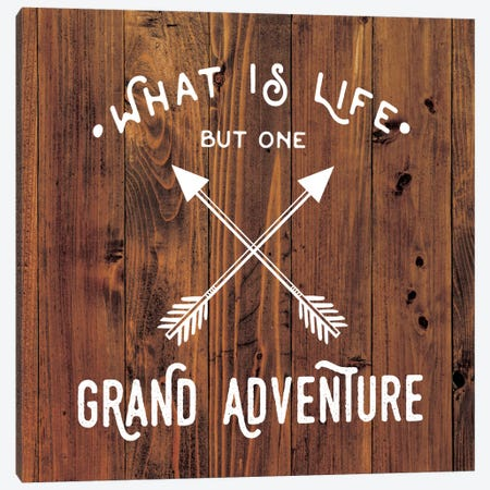 Grand Adventure Canvas Print #AMD23} by Amanda Murray Canvas Artwork