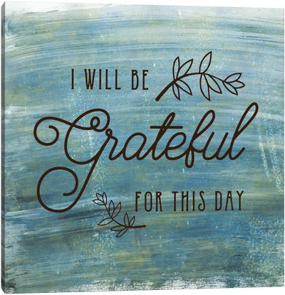 Grateful Canvas Art Print