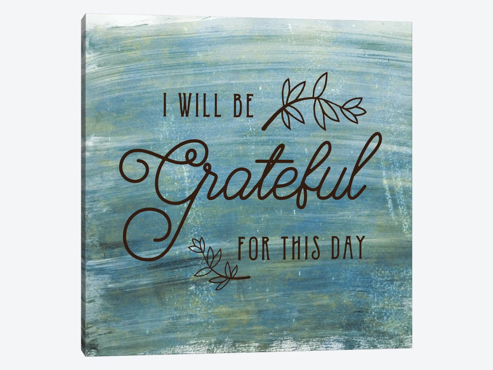 Grateful by Amanda Murray 1-piece Canvas Wall Art
