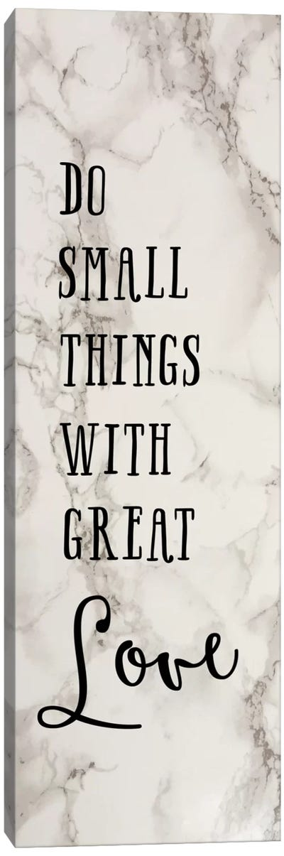 Great Love Canvas Art Print