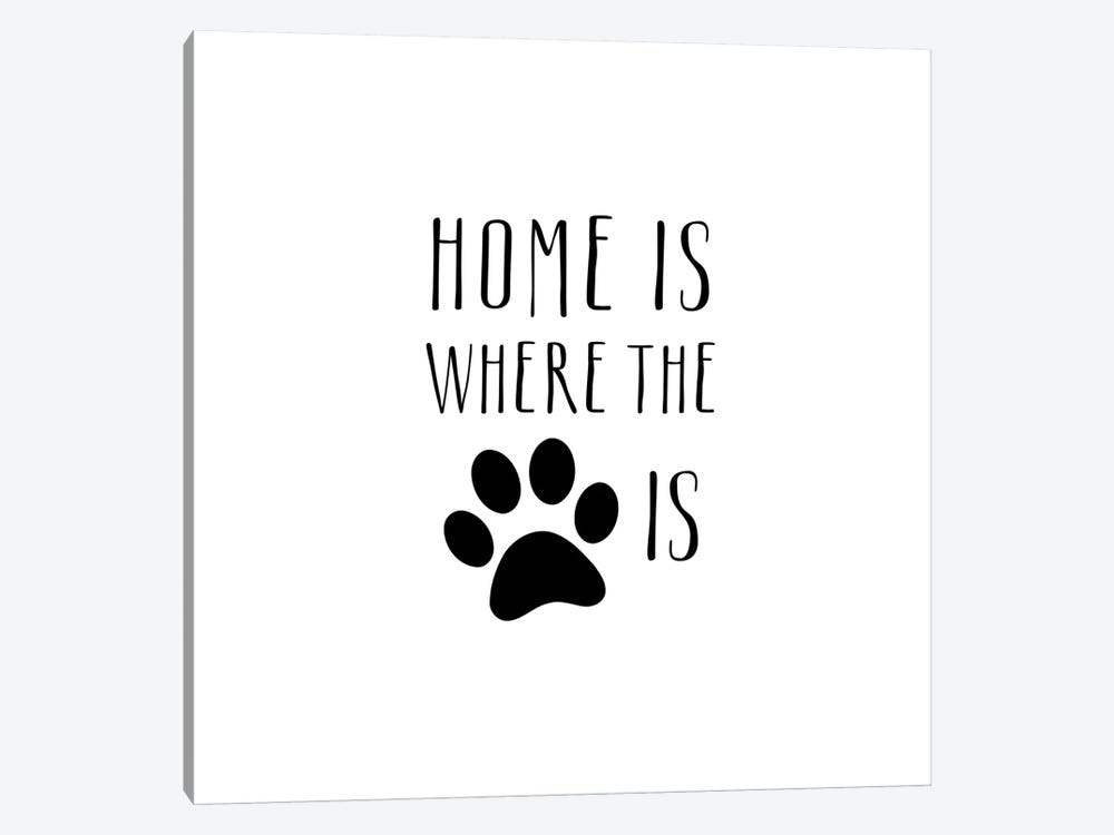 Home Is by Amanda Murray 1-piece Canvas Art