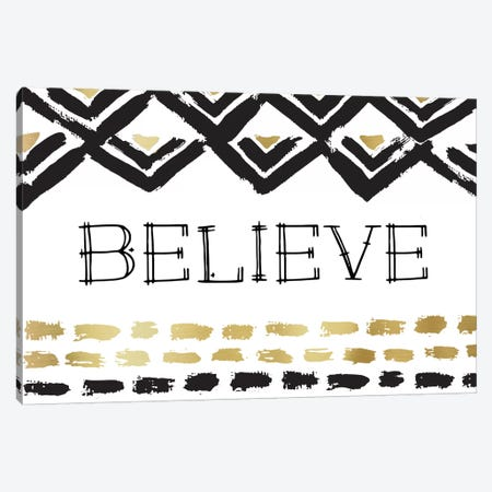 Believe Canvas Print #AMD2} by Amanda Murray Canvas Art Print