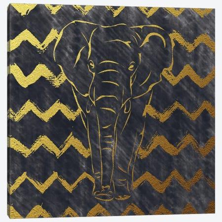 Brushed Elephant Canvas Print #AMD3} by Amanda Murray Canvas Art Print