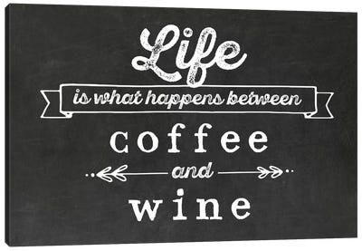 Coffee & Wine Canvas Art Print