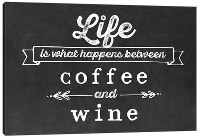 Coffee & Wine Canvas Art Print