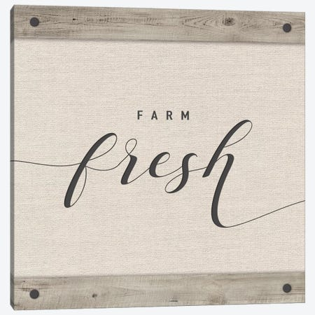 Farm Fresh Canvas Print #AMD45} by Amanda Murray Canvas Print