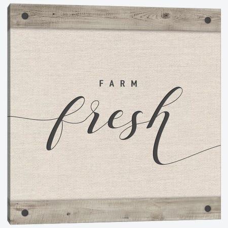 Farm Fresh Canvas Print #AMD45} by Amanda Murray Canvas Print