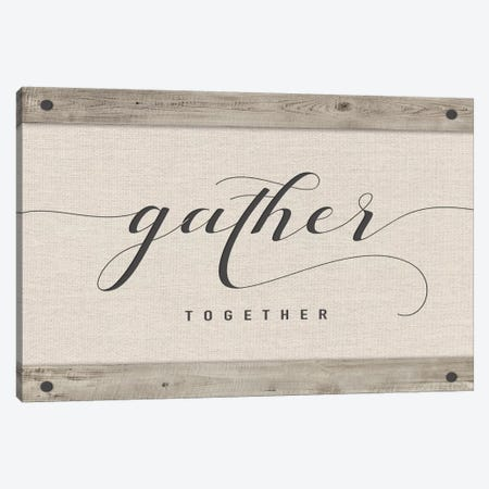 Gather Together Canvas Print #AMD46} by Amanda Murray Art Print