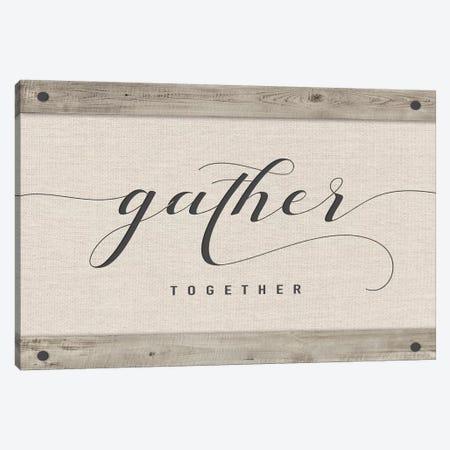 Gather Together Canvas Print #AMD46} by Amanda Murray Art Print