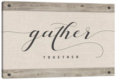 Gather Together Canvas Art Print
