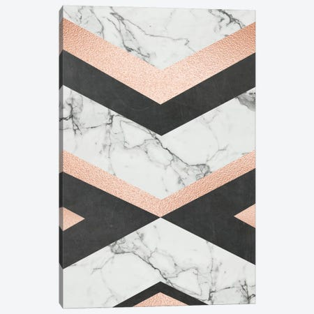 Geo Glam Canvas Print #AMD47} by Amanda Murray Canvas Art Print