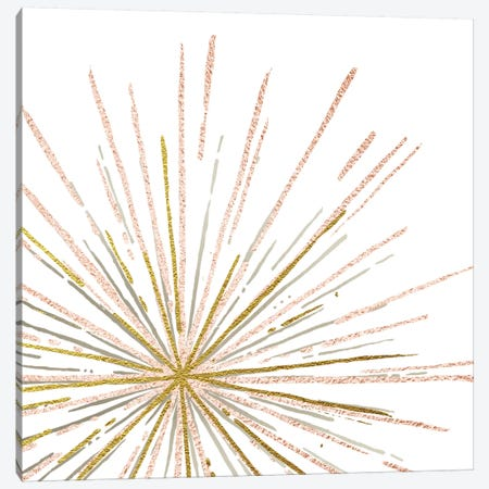 Glam Burst Canvas Print #AMD48} by Amanda Murray Canvas Artwork