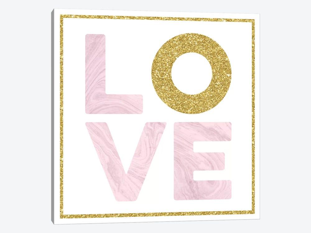 Glam Love by Amanda Murray 1-piece Canvas Print