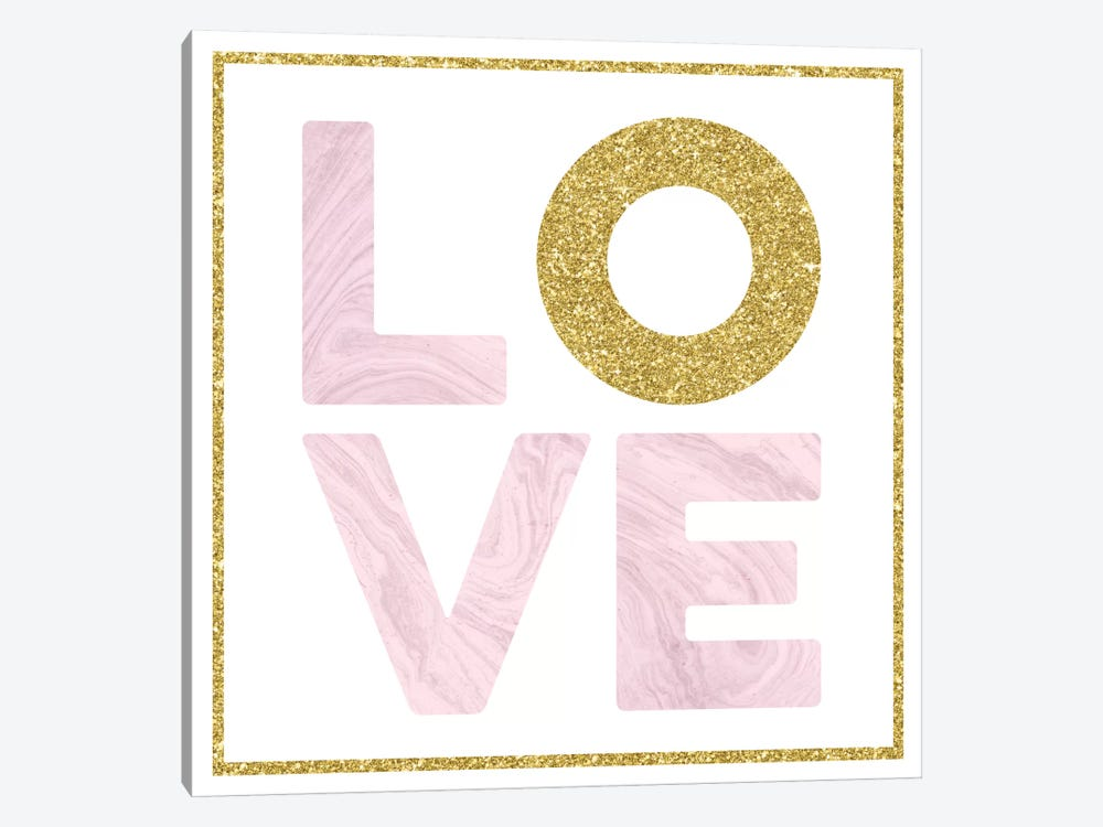 Glam Love by Amanda Murray 1-piece Canvas Print