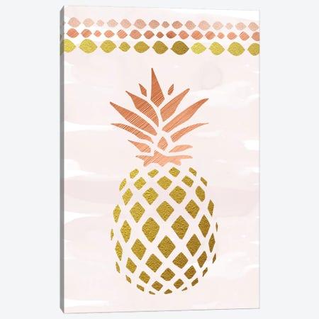 Glam Pineapple Canvas Print #AMD50} by Amanda Murray Art Print