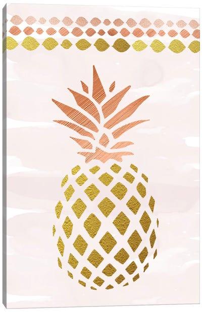 Glam Pineapple Canvas Art Print