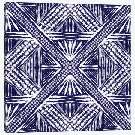 Inky Kaleidoscope III Canvas Print #AMD53} by Amanda Murray Art Print