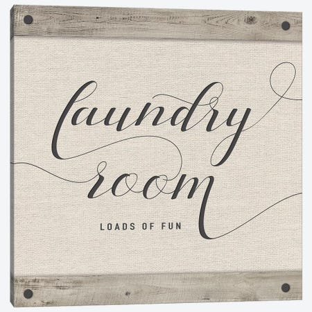 Laundry Room Canvas Print #AMD54} by Amanda Murray Canvas Wall Art