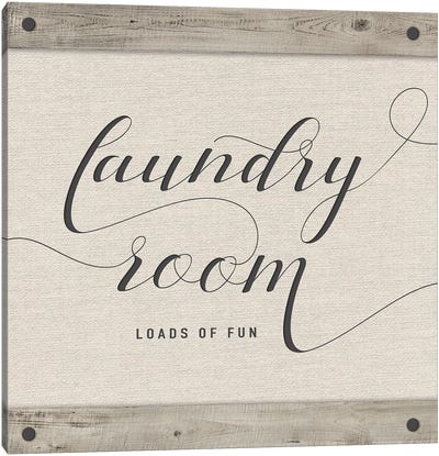 Laundry Room Canvas Art Print