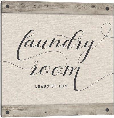 Laundry Room Canvas Art Print