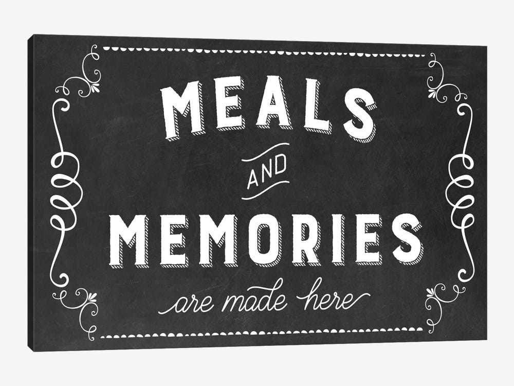 Meals & Memories by Amanda Murray 1-piece Canvas Wall Art
