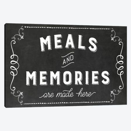 Meals & Memories Canvas Print #AMD55} by Amanda Murray Canvas Art