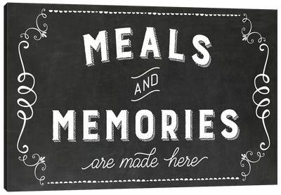 Meals & Memories Canvas Art Print
