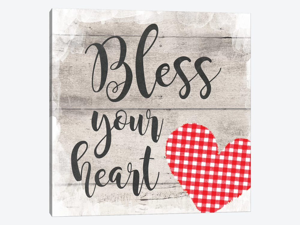 Bless Your Heart by Amanda Murray 1-piece Art Print