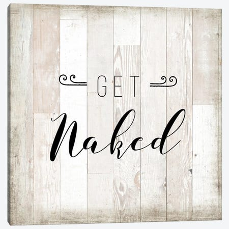 Get Naked Canvas Print #AMD60} by Amanda Murray Canvas Art