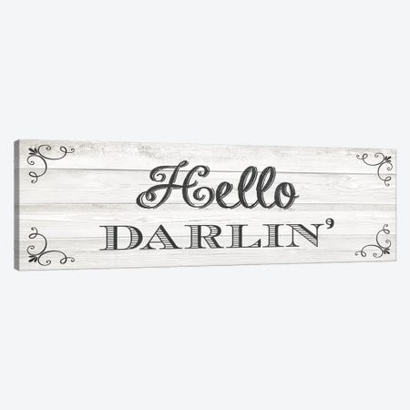 Hello Darlin' Canvas Print #AMD61} by Amanda Murray Canvas Art