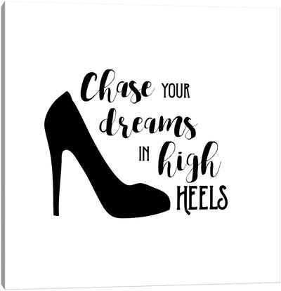 High Heels Canvas Art Print