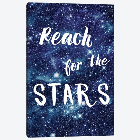 Reach For The Stars Canvas Print #AMD68} by Amanda Murray Canvas Art