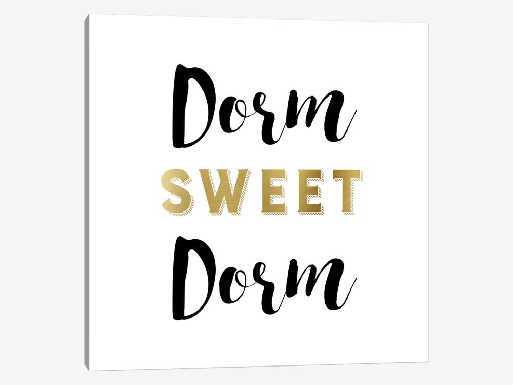 Dorm Sweet Dorm by Amanda Murray 1-piece Canvas Art