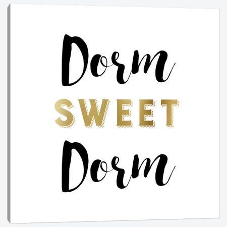 Dorm Sweet Dorm Canvas Print #AMD6} by Amanda Murray Canvas Art